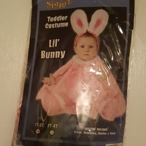 INFANT BUNNY COSTUME size 1-2 T
